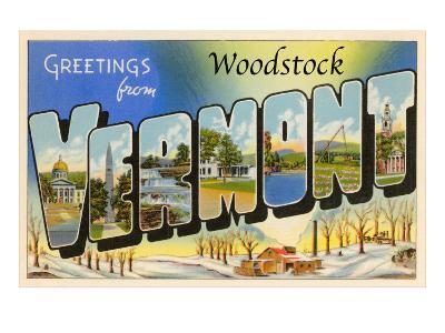 Greetings from Woodstock, Vermont