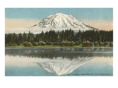 Mt. Tacoma, Lake Spanaway, Washington