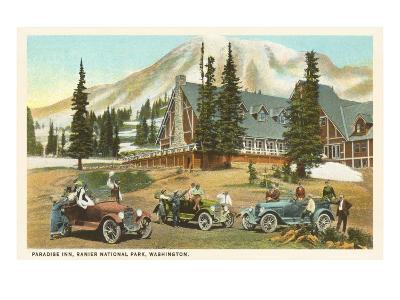 Paradise Inn, Rainier National Park, Washington