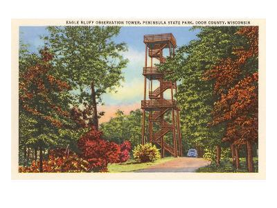 Eagle Bluff Observation Tower, Wisconsin