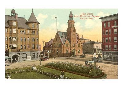Post Office, Monument Square, Racine, Wisconsin