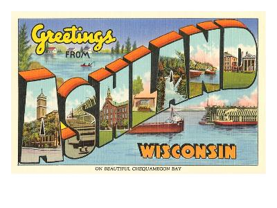 Greetings from Ashland, Wisconsin
