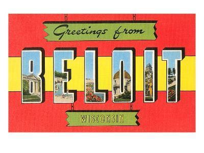 Greetings from Beloit, Wisconsin