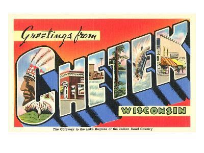 Greetings from Chetek, Wisconsin