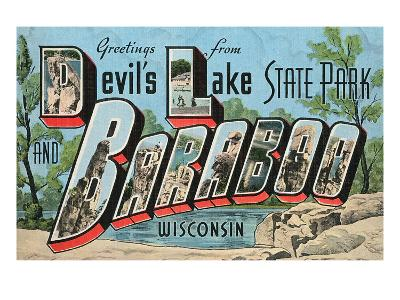 Greetings from Baraboo, Wisconsin