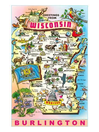 Greetings from Wisconsin, Burlington