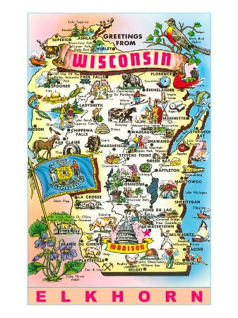 Greetings from Wisconsin, Elkhorn