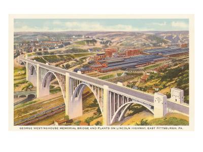 Westinghouse Bridge, East Pittsburgh, Pennsylvania