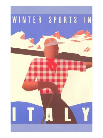 Winter Sports in Italy, Graphics