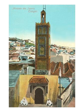 Mosque of Isawia, Tangiers, Morocco