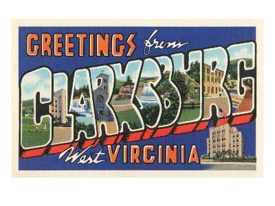 Greetings from Clarksburg, West Virginia