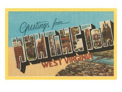 Greetings from Huntington, West Virginia