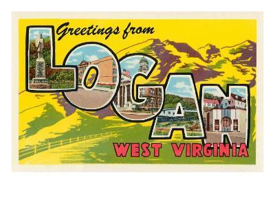 Greetings from Logan, West Virginia