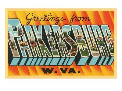 Greetings from Parkersburg, West Virginia
