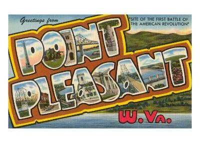 Greetings from Point Pleasant, West Virginia