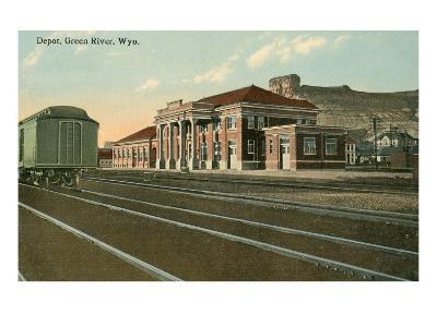 Depot, Green River, Wyoming
