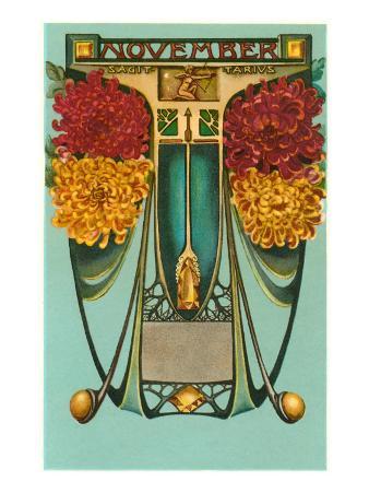 Art Nouveau November, Sagittarius