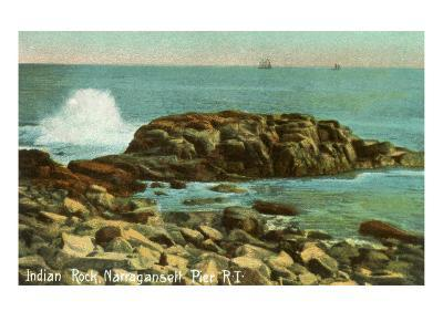 Indian Rock, Narragansett Pier, Rhode Island