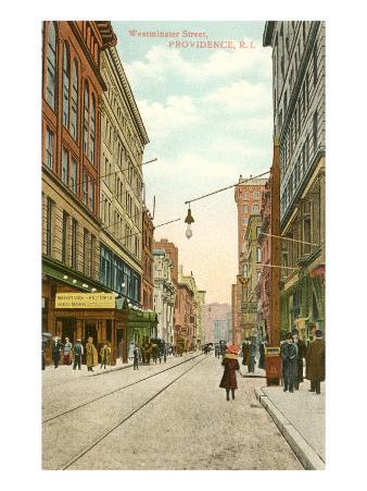 Westminster Street, Providence, Rhode Island