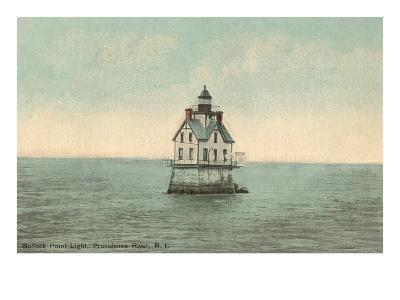 Bullock Point Lighthouse, Rhode Island