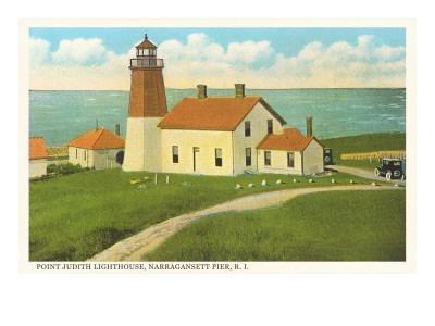 Pt. Judith Lighthouse, Narragansett Pier, Rhode Island
