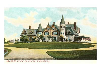 The Rocks, Clew House, Newport, Rhode Island