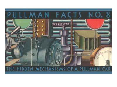 Pullman Facts No. 8, Hidden Mechanisms, Graphics