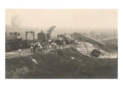 Photograph of Train Wreck
