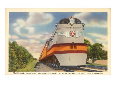 Hiawatha, Train in Midwest