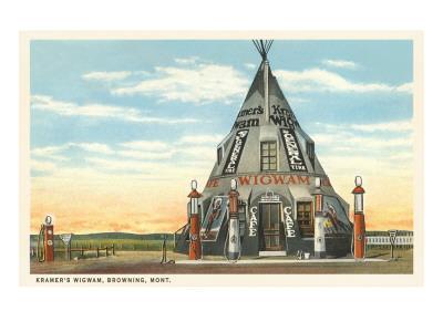 Wigwam Gas Station, Browning, Montana
