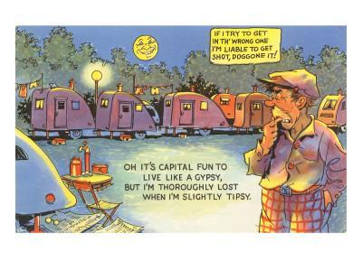 Life in the Trailer Park, Cartoon
