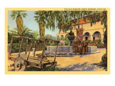 Old Mission, Santa Barbara, California