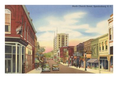 North Church Street, Spartanburg, South Carolina