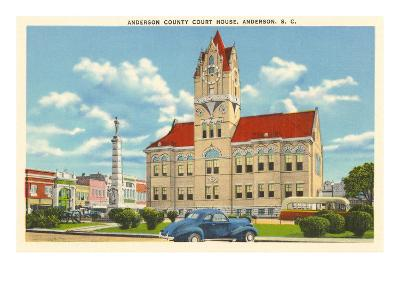Courthouse, Anderson, South Carolina