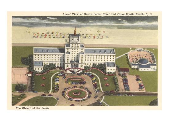 Ocean Forest Hotel Myrtle Beach South Carolina