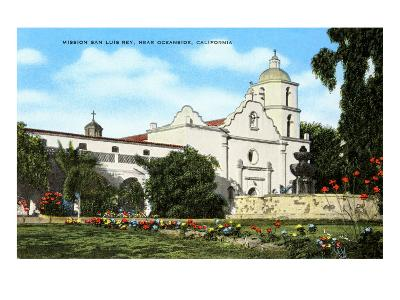Mission San Luis Rey, Oceanside, California