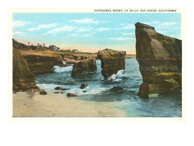 Cathedral Rocks, La Jolla, California