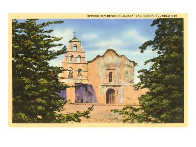 Mission San Diego de Alcala, San Diego, California