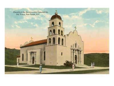 Church, Old Town, San Diego, California