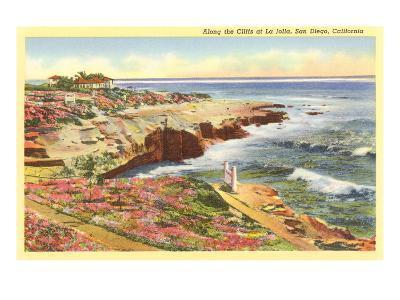 Cliffs at La Jolla, San Diego, California