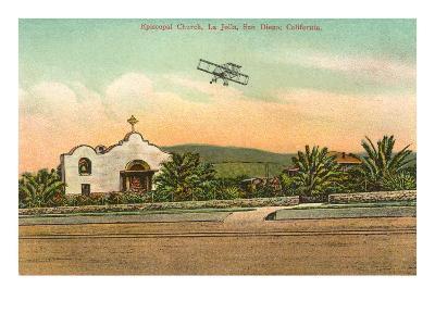 Episcopal Church, Biplane, La Jolla, California