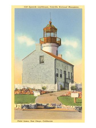 Cabrillo Lighthouse, Point Loma, San Diego, California
