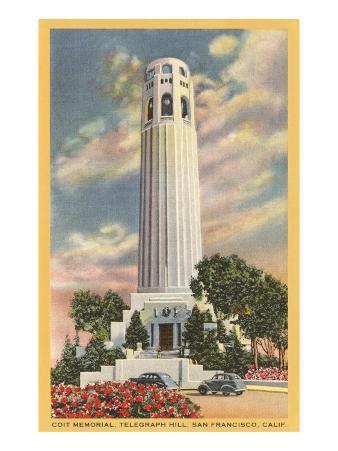 Coit Tower, Telegraph Hill, San Francisco, California