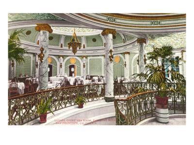 Tea Room, Fairmont Hotel, San Francisco, California
