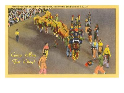 Chinese New Year Parade, San Francisco, California