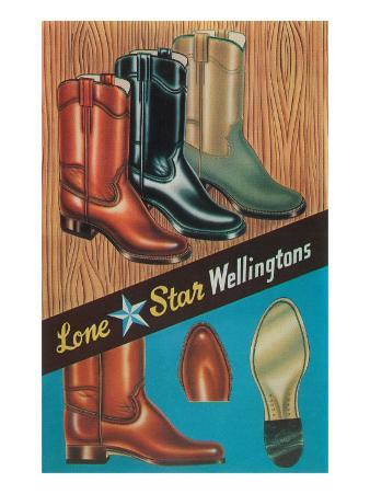 Boots, Lone Star Wellingtons