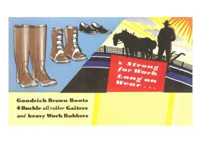 Work Boots and Gaiters