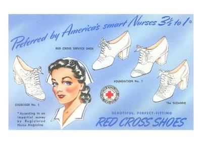 Selection of Nurses' Shoes