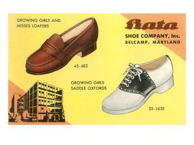 Loafers and Saddleshoes Advertisement