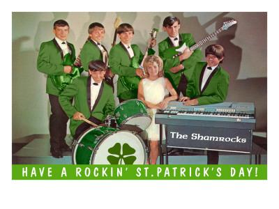 Have a Rockin St. Patricks Day, School Rock Band